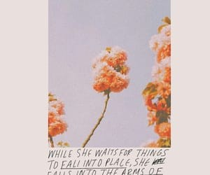 flowers, quotes, and pink image
