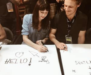 jamiefraser, clairefraser, and comiccon image