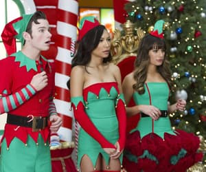 kurt, santana, and rachel image