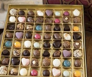 candy, chocolate, and truffles image
