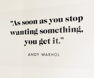 andy warhol, black, and quotes image