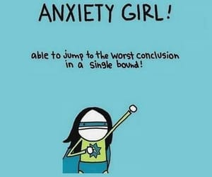 anxiety, girl, and funny image
