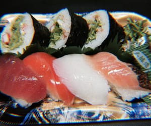 theme, sushi, and archive image