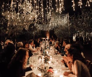 evening, lights, and party image