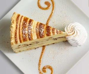 caramel, food, and vanilla image
