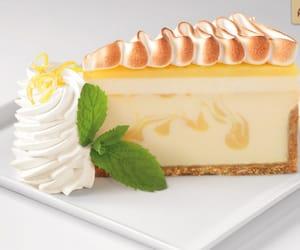 cake, cream cheese, and lemon image