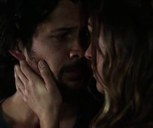 bellamy, the 100, and echo image