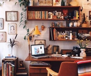 home, study, and books image