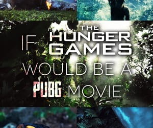 game, movie, and hunger games image