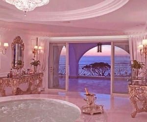 luxury, pink, and purple image