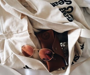 bags, sunglasses, and style image