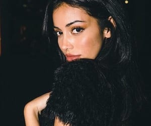 black, model, and profile pic image