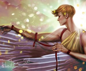 digital art, fan art, and greek mythology image