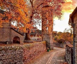 autumn, fall, and Greece image