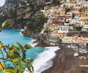 italy, positano, and george oze image