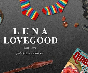 harry potter, luna lovegood, and aesthetic image