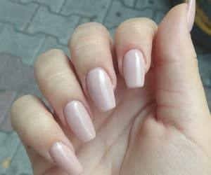 acrylics, nails, and Nude image