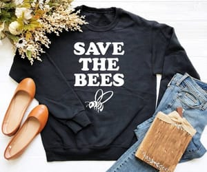 bees, etsy, and funny image