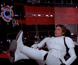 gif, harrison ford, and han solo image