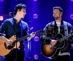 justin timberlake, i heart festival, and shawn mendes image
