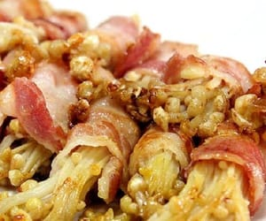 bacon, mushrooms, and appetizers image
