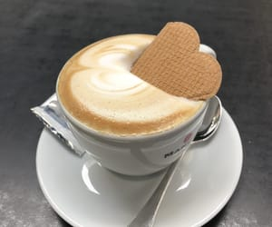 delicious, cappuccino, and coffee image