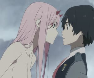 darling in the franxx, zero two, and anime image
