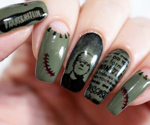 barry m, Frankenstein, and Halloween image