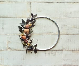 etsy, fall wreath, and floral wreath image