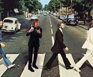 abbey road, beatles, and ice cream image