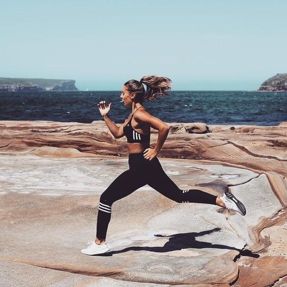 fitness, running, and body image