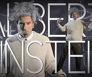 Albert Einstein, einstein, and genius image