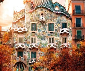 autumn, Barcelona, and fall image