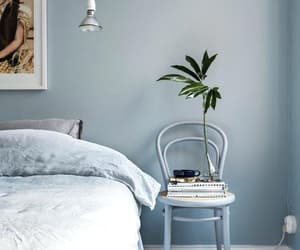 bedroom, lifestyle, and plants image