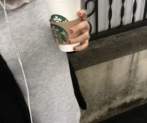 clothes, fall, and pumpkin spice latte image