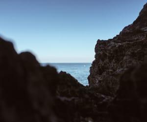 blue, eyes, and sea image