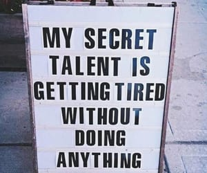 quote, secret, and talent image