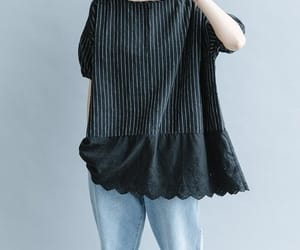 etsy, cotton shirt, and linen top image