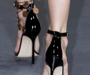 Gareth Pugh, heels, and manolo blahnik image