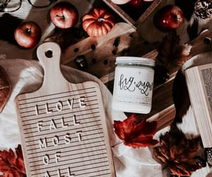 autumn, aesthetic, and candle image