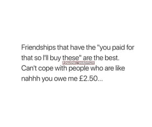 friendship, quote, and relatable image