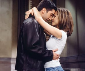friends, couple, and David Schwimmer image