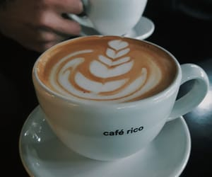 art, coffee art, and cafe image