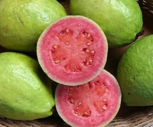 fruit, guava, and tropical image