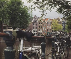amsterdam, architecture, and amstel image