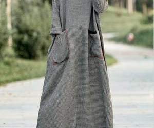 etsy, oversize dress, and long sleeved dress image