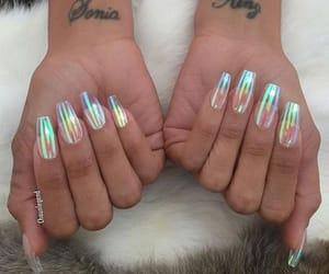 article, long, and nails image