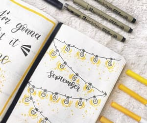 college, journaling, and planner image