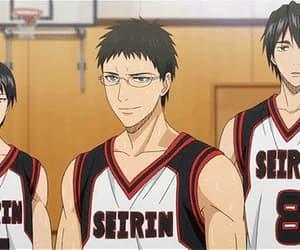 anime, gif, and kuroko no basket image
