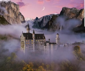 castle, cool, and moon image